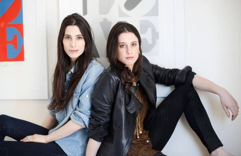 Sisters Danielle (left) and Laura Kosann, founders of The New Potato