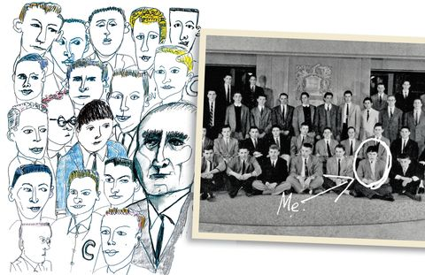People, Art, Illustration, Vintage clothing, Artwork, Drawing, Line art,