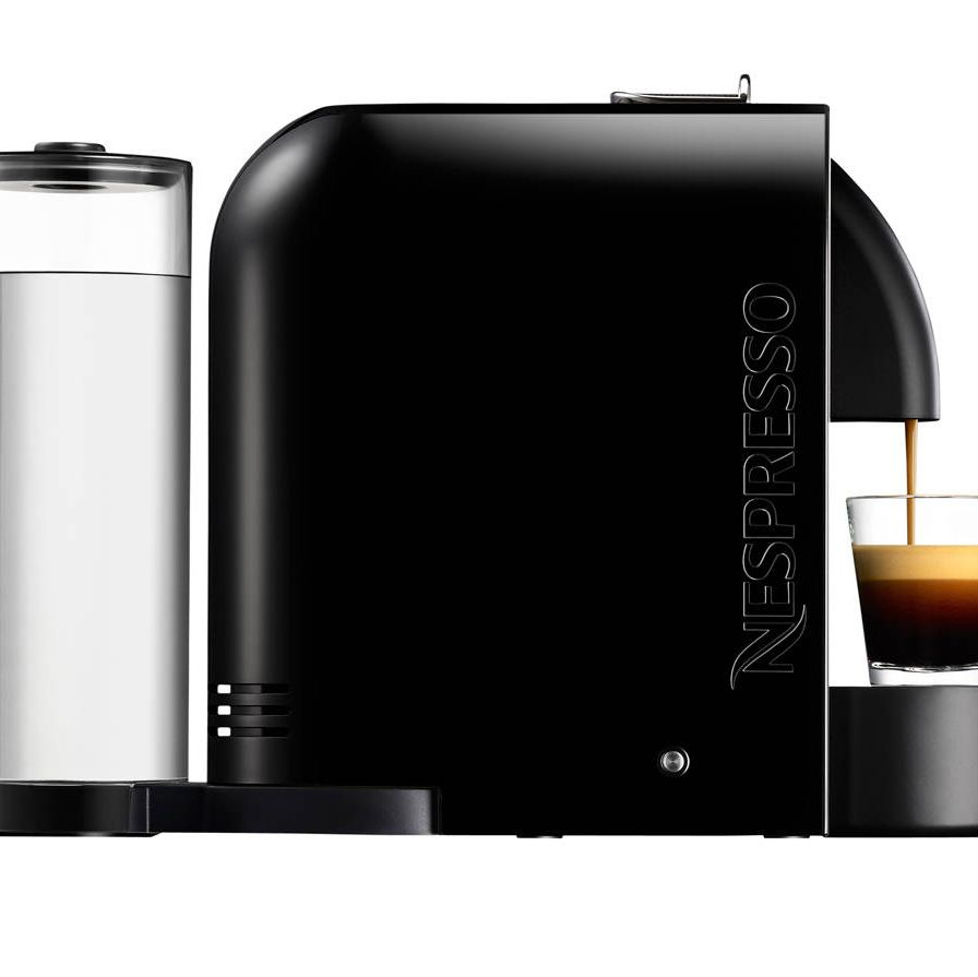 Sadly, Providence is outside Sant Ambrœus's delivery limits. The U machine, however, can remember your order (Ristretto? Espresso? Lungo?) just as well. $199, nespresso.com