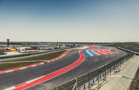 The new 3.4-mile Circuit of the Americas track, in Austin, Texas. The facility can accommodate 120,000 spectators.