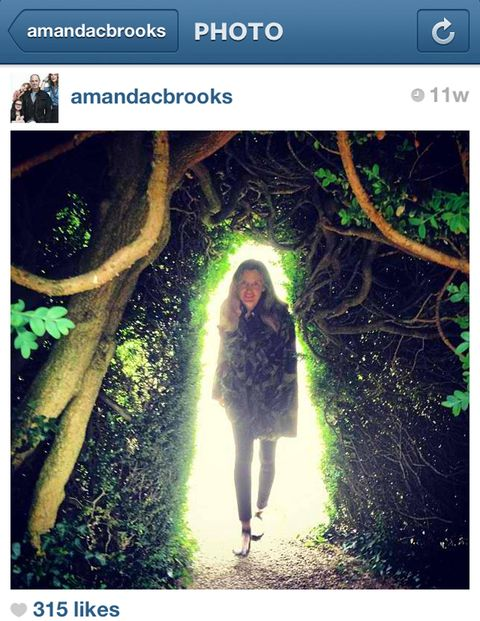Account Name: AMANDACBROOKSFollowers: ~7000Who She Is: Manhattan style staple turned English farm girl, former Barney's fashion director What She Posts: Jaunts throughout the English countryside that look like they were planned for a photo-shoot, stylish visits back to New York City, photos of friends and family doing normal activities with a chic twist.