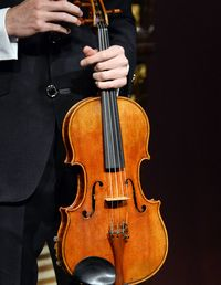 Item: The MacDonald viola, made in 1719 by Antonio Stradivari, during his golden period.Provenance: Formerly owned by Godfrey Bosville, the third baron MacDonald of Slate, who acquired the viola in the 1820s. In 1964, it was purchased by Deutsche Grammophon for Peter Schidlof of the Amadeus Quartet, who eventually came to own the instrument. His family is offering the instrument for sale.Estimate: At least $45 million, the lowest price that the Schidlofs will take.Auction: The final date to submit a sealed bid to Sotheby's or to Ingles & Hayday, sellers of fine instruments, is June 25.