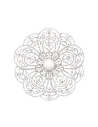 Chanel brooch.