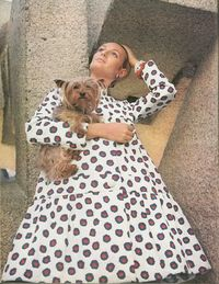 <p>Texan Deborah Wood Dixon and her inseparable Yorkie.</p>