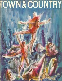 "<p>""The Ballet of the Atlantic"" by Russian-born surrealist and pupil of Gertrude Stein Pavel Tchelitchew.</p>"