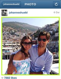 Account Name: JOHANNESHUEBLFollowers: 91kWho He Is: The German native is a model but perhaps best known as Olivia Palermo's other half. What He Posts: Shots of his European vacations with Ms. Palermo in Greece, Germany and beyond, couple's snaps, modeling pics, and enough shirtless photos to fill every girl's quota and have any guy hitting the gym.
