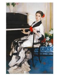 John Singer Sargent's Madame Ramón Subercaseaux (circa 1880) is in the Museum of Fine Arts.