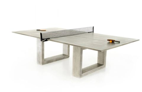 """<p>James De Wulf ping-pong dining table</p> <p><a href=""""http://www.deringhall.com"""">www.deringhall.com</a></p>"""