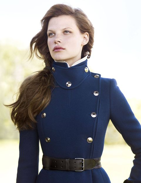 How many stories have been written about a woman and her horse? Gucci cashmere coat ($3,590)&#x3B; Linea Pelle belt ($190). Put your best face forward: StriVectin-TL Tightening Face Serum.