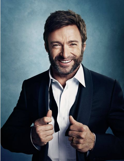 """When Hugh Jackman and Deborra-Lee Furness met for the first time, in 1995 in Melbourne, on the set of the TV drama Correlli, she was the star playing the title character and Jackman was the novice, hired to play her love interest less than an hour after graduating from the Western Australian Academy of Performing Arts, in Perth. Right from the start the producers liked what they saw. At 26, tall and slim, with a rangy prettiness, Jackman played a feral sort, a convict beaten senseless in police custody, and Furness, then 39, played the prison psychologist battling her own attraction as she nursed him back to health.You can see their first kiss online: The six-foot-two Jackman corners Furness in a prison hallway, blocking her exit and taking her breath away with a kiss that combines menace and unhurried sexual electricity. The difference in age didn't seem to get in their way. The producers told her, """"We're really happy with your chemistry."""" She told them she'd keep working on that.The couple have clearly told their story before. Over a leisurely lunch three days before the premiere of Jackman's sixth outing as Wolverine— the immortal X-Men mutant with the adamantium claws—in a restaurant nine stories below their Manhattan river-view apartment, Hugh and Deb happily recall the cat-and-mouse game of their mutual seduction: how Jackman suddenly stopped talking to her on set&#x3B; how Furness, who is blonde, bluff, and quick to laugh, called him on his crazy behavior&#x3B; how, by way of explanation, he waved her off, embarrassed about falling for the leading lady on his first professional job, confessing his attraction to her at the same instant he was saying he'd get over it&#x3B; how she responded to the confession by saying, Yeah, she was falling for him too."""
