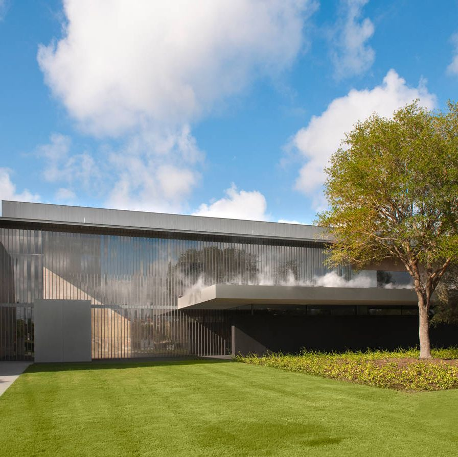 The new Asia Society Texas Center was designed by Yoshio Taniguchi, who did the renovation of New York's Museum of Modern Art.