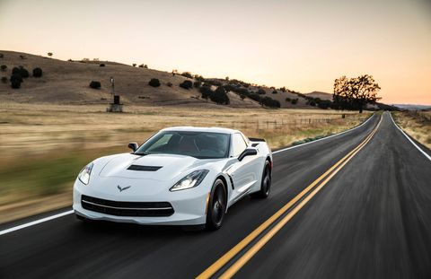 The Chevy Corvette debuted in 1953 as a roadster and came into its own in the muscle car era as, arguably, the car most likely to peel out noisily from a stop light, a quality that seared its showoffy oval tail lights into the subconscious of generations of Americans.The latest Corvette Stingray, new in 2014, is remarkably low and luxurious, with a swoopy exterior that recalls the curvaceous excesses of its beloved second and third generations. There are vents everywhere: we were assured they were functional, for cooling and down-force and such. But they too echo the past—earlier versions bore the nicknames mako shark and manta ray.Chevy laid out a route through the rolling empty landscape of the Monterey peninsula, an isolation that allowed drivers to discover exactly how overqualified the engine and steering and braking could be. The verdict: a valid competitor to much more expensive Italian sports cars from a power standpoint, with satisfying echoes of the design peak of the marque.