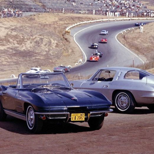 When the Stingray debuted, it held its own against a series of swanky sport cars, like the Mustang and Lamborghini, that hit the streets in the early 60s. The teardrop rear window (right) set the car apart on the design side and the big block 427 horsepower V-8 engine made it highly overqualified in the power department.Out on the street, though, the tiny tires couldn't handle all that power&#x3B; driving it feels like putting a linebacker on roller skates. With any sort of speed in the turn, the driver begins to wrestle with the tendency to oversteer—a plus for some drivers who like to screech around a neighborhood.