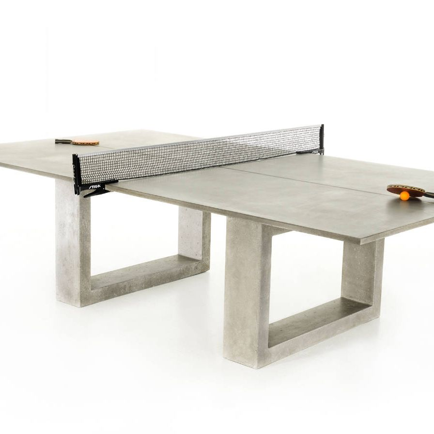 <p>James De Wulf ping-pong dining table</p>