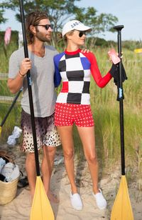 Lincoln Pilcher and Carolyn Murphy.