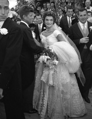 Wedding Photos of Jackie Kennedy and John F. Kennedy - Jacqueline ...