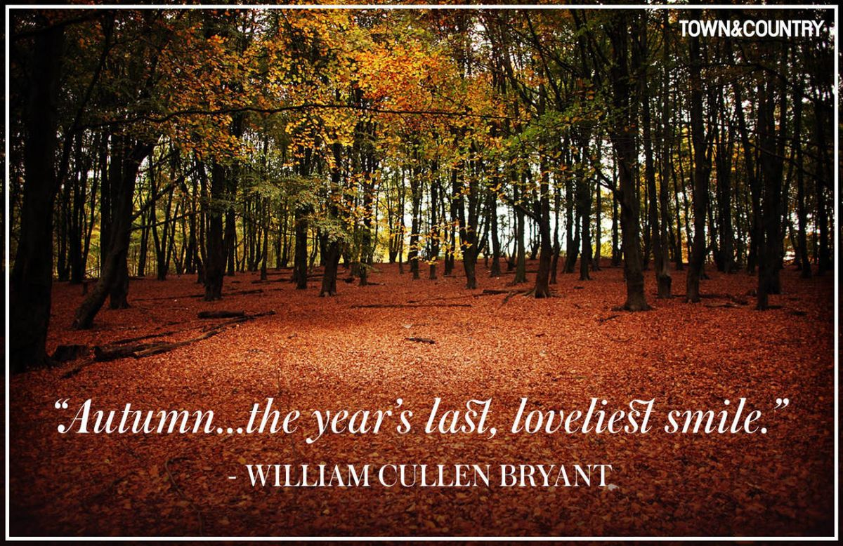 Country Life Quotes And Sayings 12 Inspiring Fall Quotes  Best Quotes & Sayings About Autumn