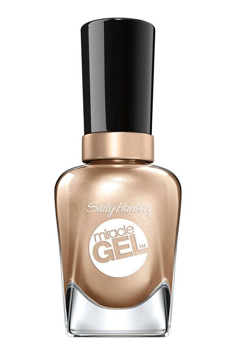 Sally Hansen Miracle Gel in Game of Chromes, $10, drugstore.com.