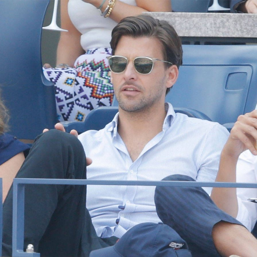 <p>Enjoying the 2014 US Open from the Moet & Chandon suite.</p>