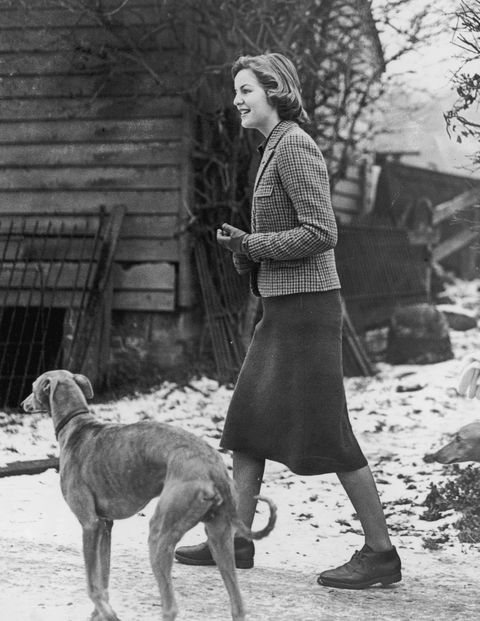 1940- Visiting Lord Redesdale's house at High Wycombe.