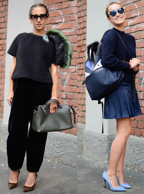 Milan Fashion Week Trends Best Milan Fashion Week Moments