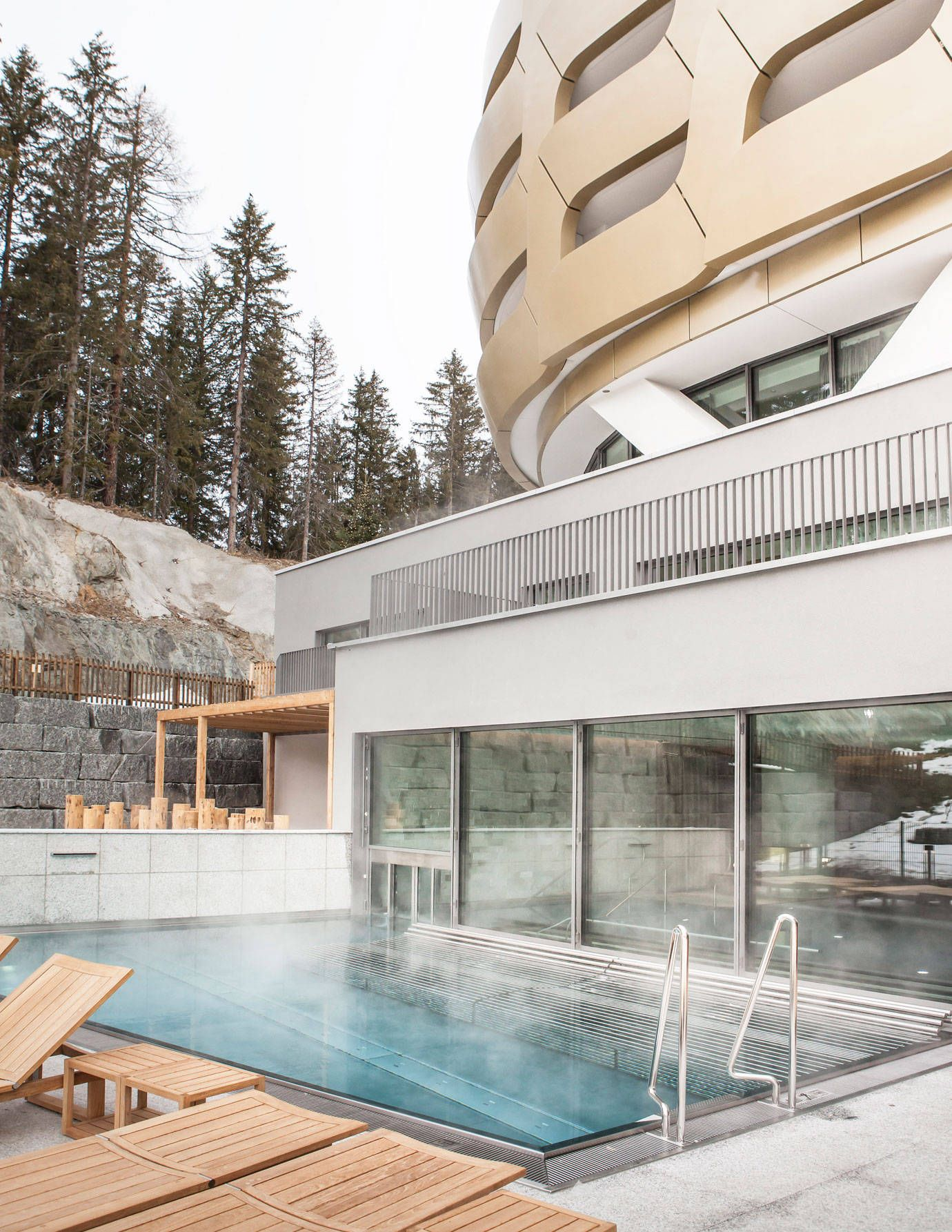 The InterContinental Davos, A Swiss Alps Getaway for Ski and Spa Lovers