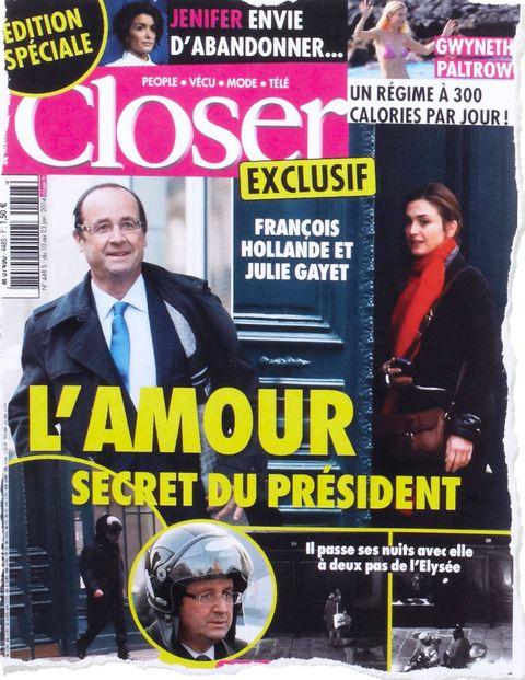 Francois Hollande - French Mistress