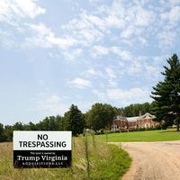 When Bank of America turned down Donald Trump's bid for the Kluge mansion, Trump just bought all the surrounding property and began to wait.