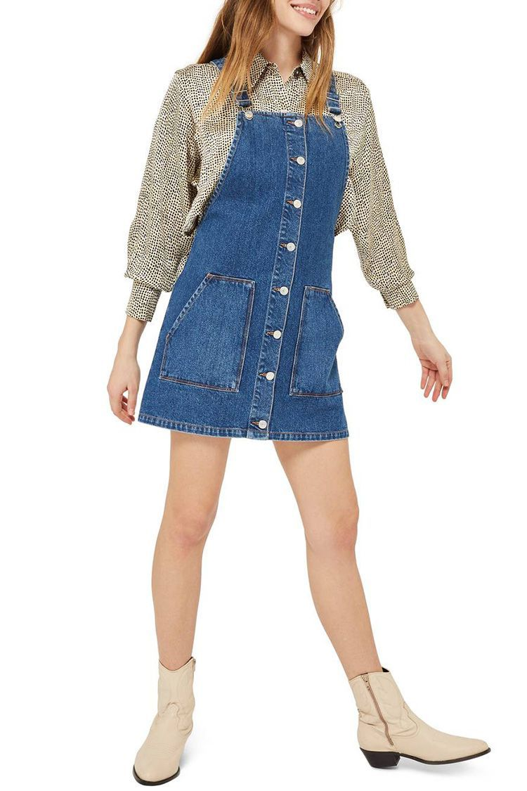 10 Best Denim Dresses For Spring 2018 Cute Jean