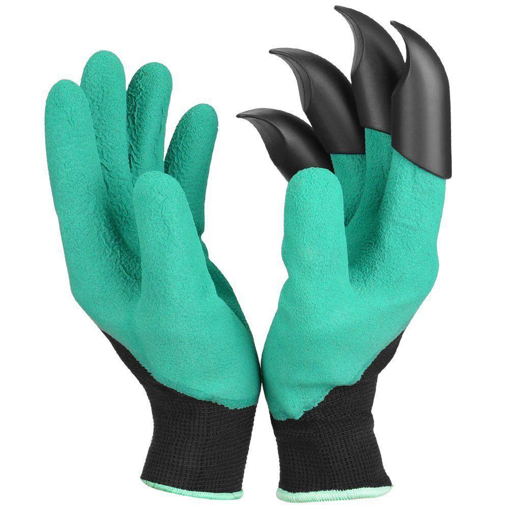 Charming Garden Genie Gloves With Fingertip Claws