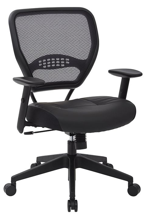 E Seating Professional Dark Airgrid Managers Office Chair
