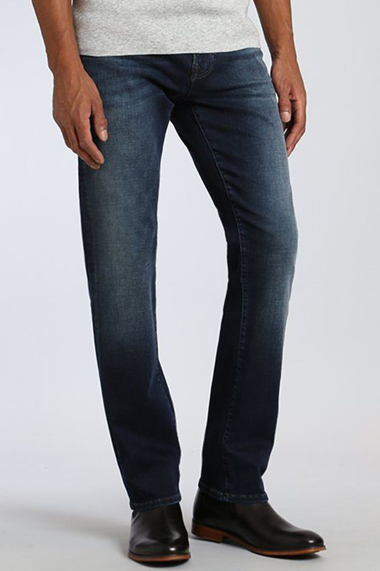 Low Rise Straight Leg Jeans Mens