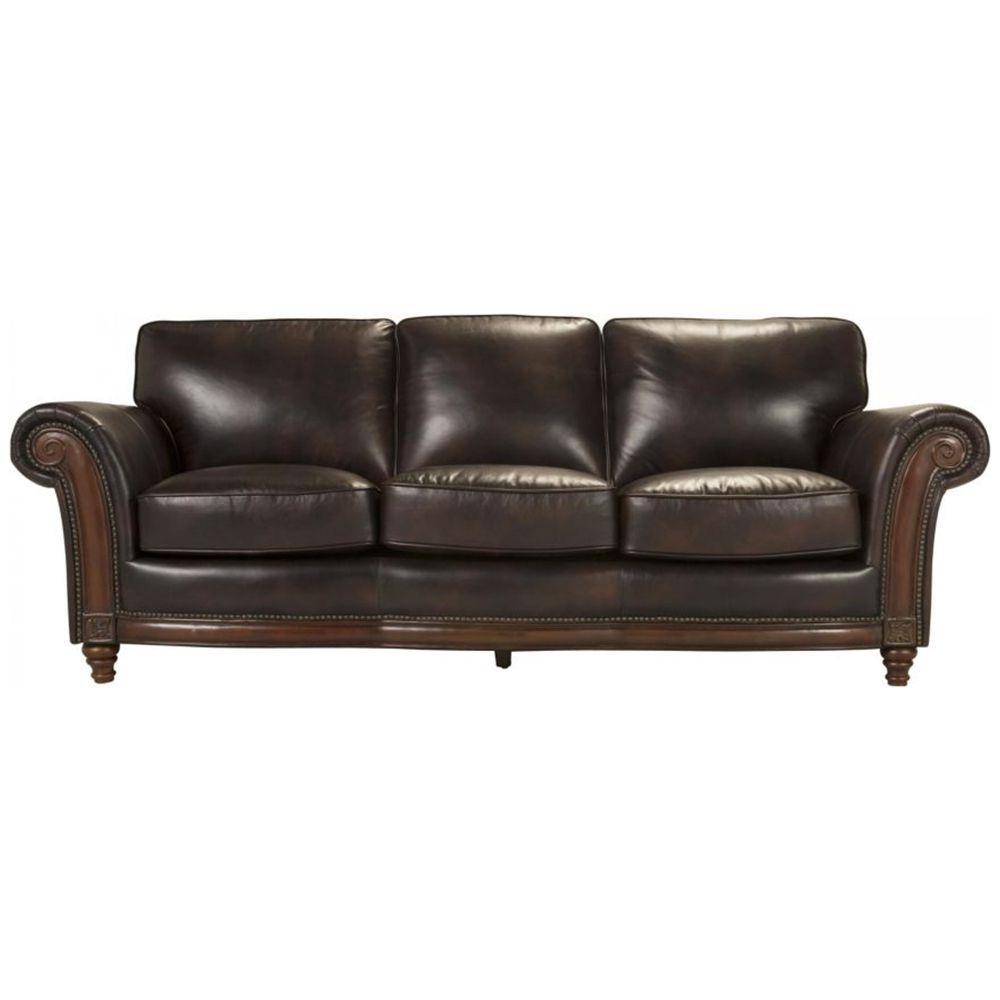 3 Bellanest Brookshire Leather Sofa