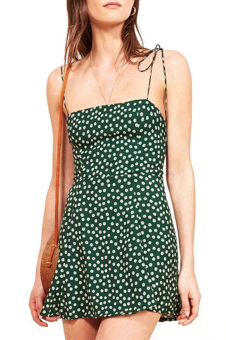 8552c95a2783 10 Mini Dresses That Were Made for Summer 2018 - Cute Mini Dresses