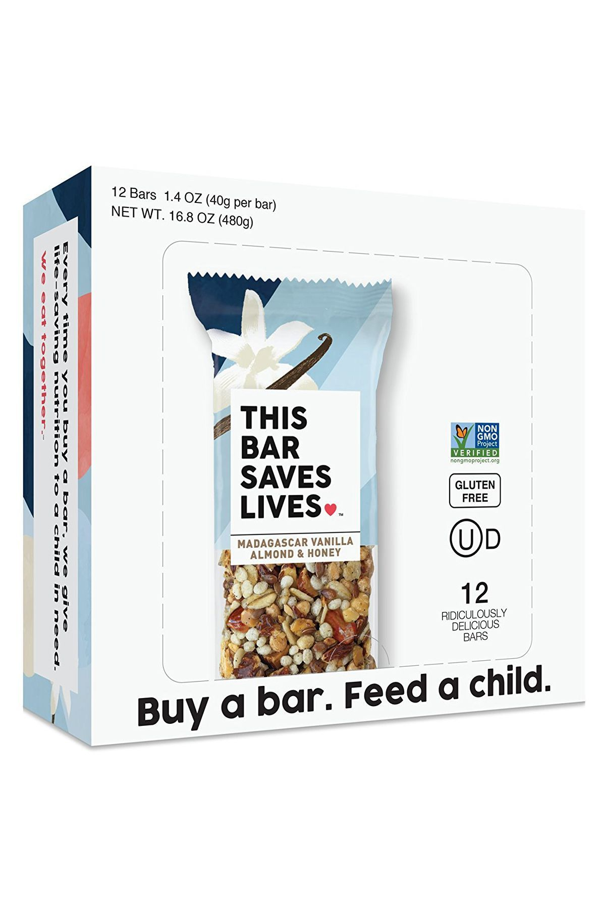 This Bar Saves Lives in Madagascar Vanilla, Almond and Honey