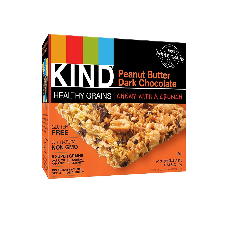 KIND Peanut Butter Dark Chocolate Healthy Grains Bars