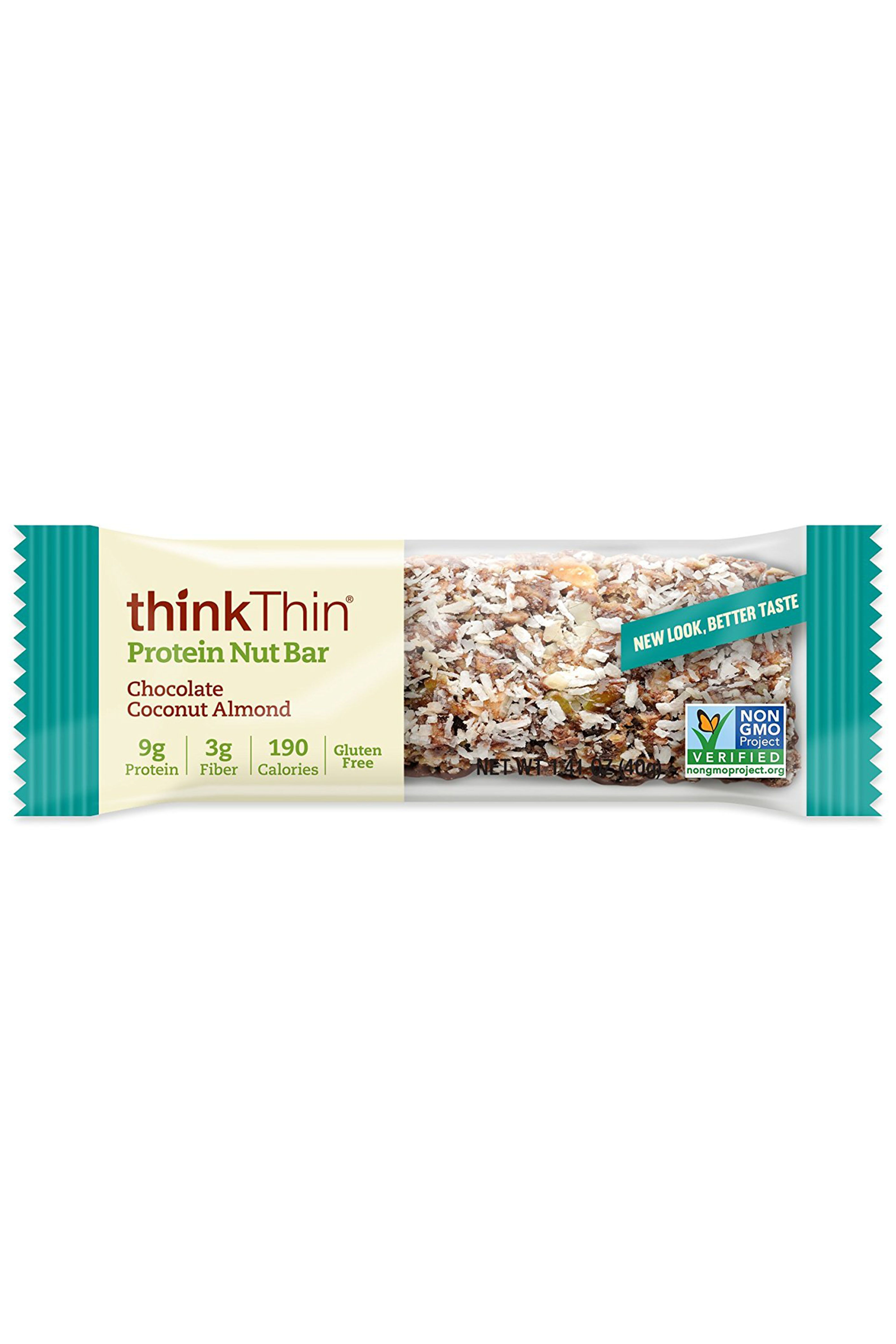 ThinkThin Protein Nut Bars in Chocolate Coconut Almond