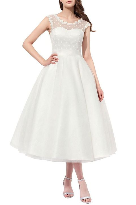11 Beautiful Wedding Dresses You Can Buy On Amazon Best Amazon Wedding Dresses