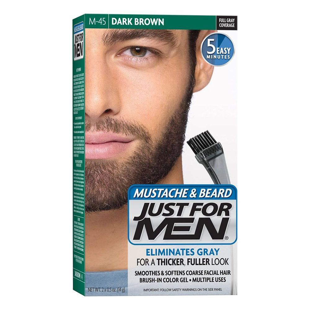 Just for Men Mustache and Beard Hair Dye For Men