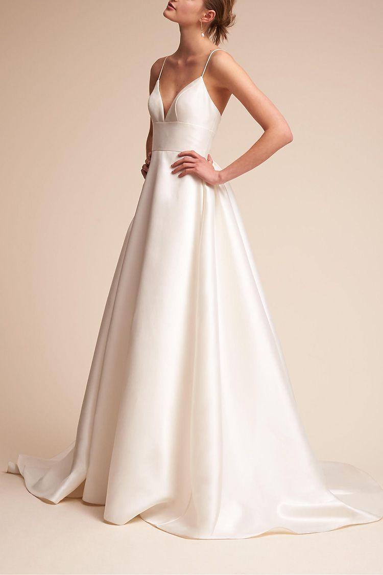 11 cheap wedding dresses for summer 2018 best summer wedding gowns bhldn ombrellifo Choice Image