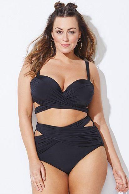419a373dc07 21 Sexy High-Waisted Swimsuits — 2019 High-Waisted Bikinis