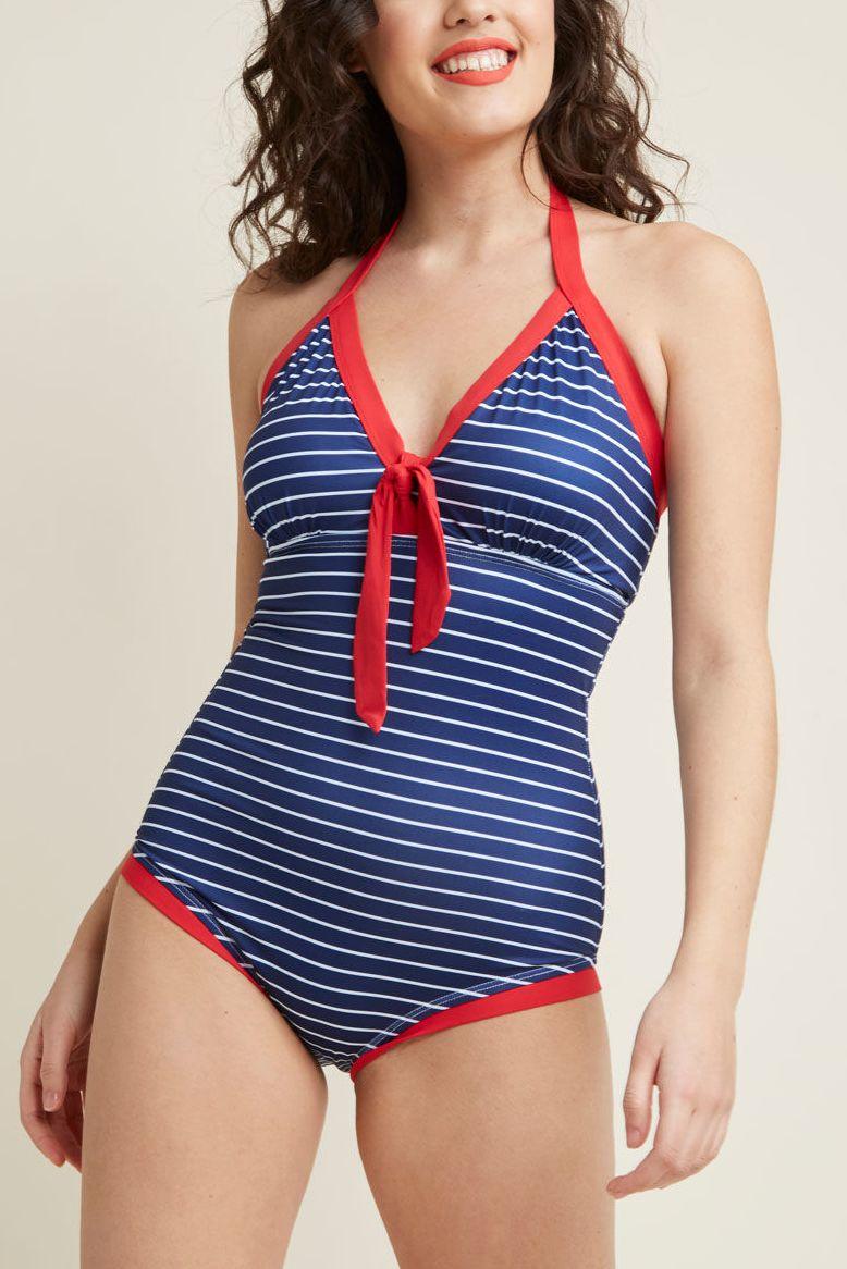 Vintage swimwear women
