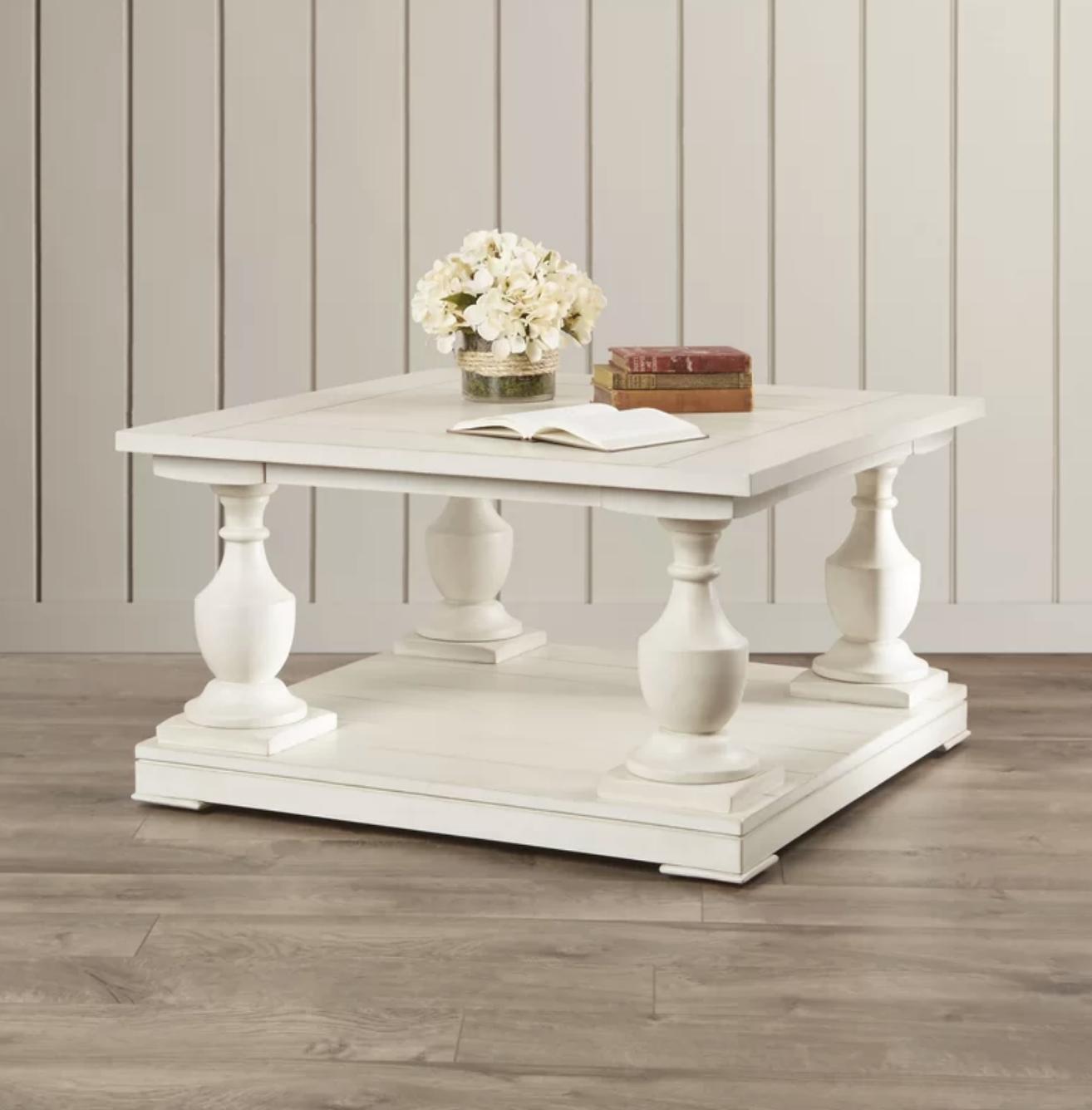 Flower Coffee Table.Warwick Sandalfoot Coffee Table