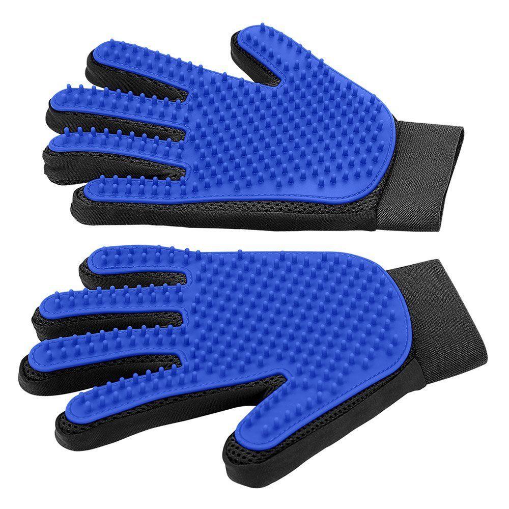 DELOMO Pet Deshedding Brush Glove