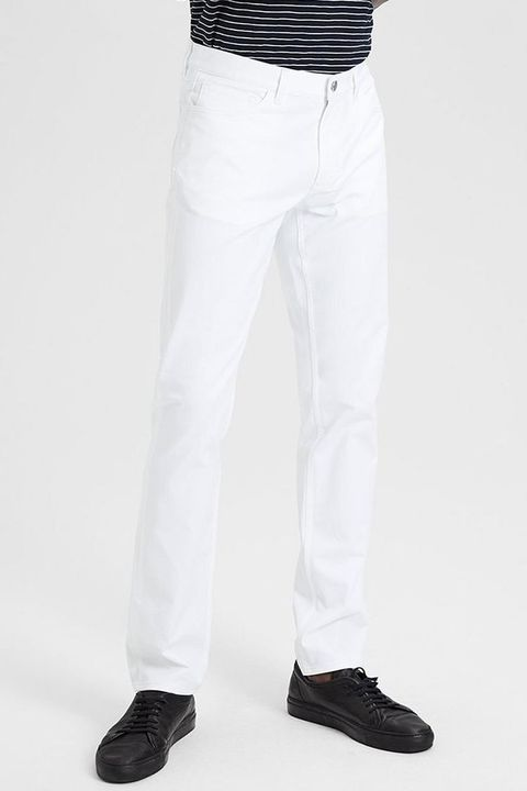 0e8470523d 8 Best White Pants for Men in 2018 - Stylish Men's White Jeans ...
