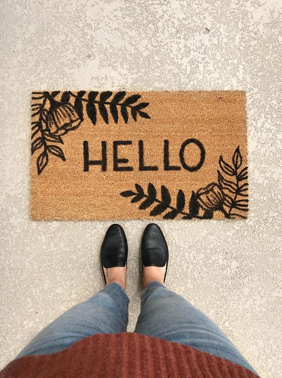 1 Hello Welcome Mat & 25 Best Housewarming Gift Ideas - Unique Gifts for New Home Owners