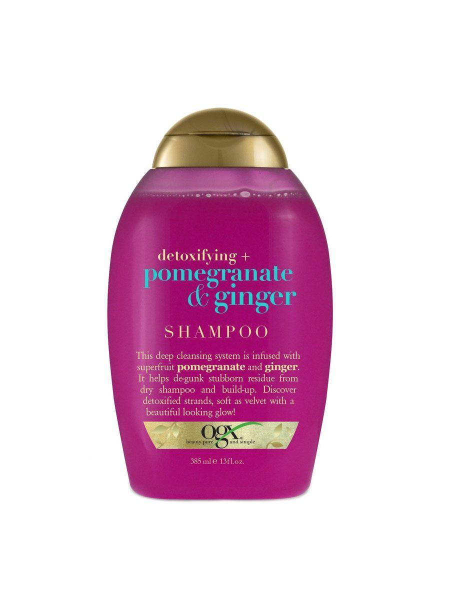 Detoxifying + Pomegranate & Ginger Shampoo