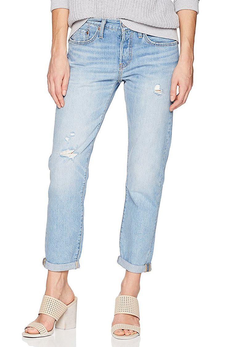 bb63a420c9c 10 Best Boyfriend Jeans for Women - Cute Boyfriend Jean Styles for 2018