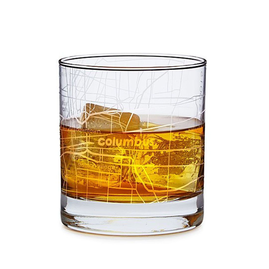 City Map Glass UncommonGoods uncommongoods.com $16.00 SHOP NOW A rocks glass with his city's grid etched in makes for an elegant nod to Dad's hood.