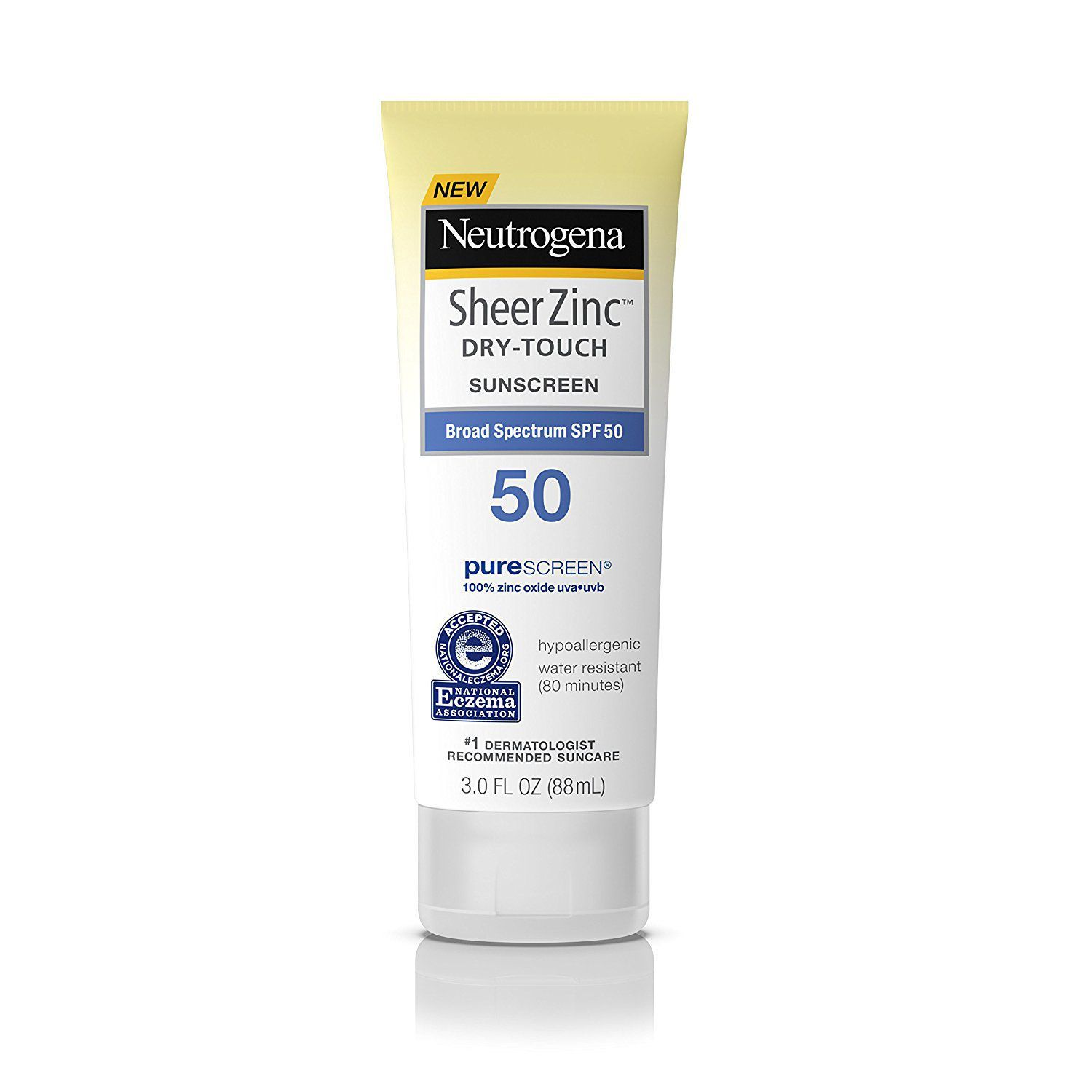 Neutrogena SheerZinc Dry-Touch Sunscreen SPF 50